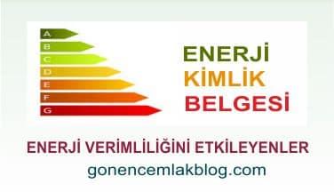 enerji verimi